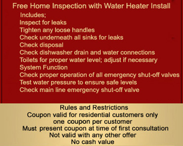 free home plumbing inspection